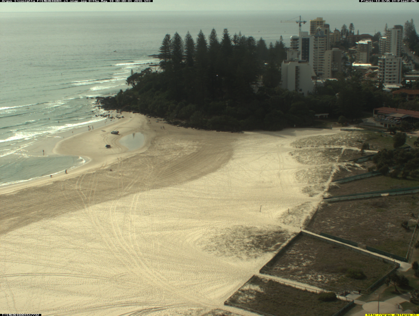 Greenmount webcam - Coolangatta - Greenmount 1 webcam, Queensland, Gold Coast