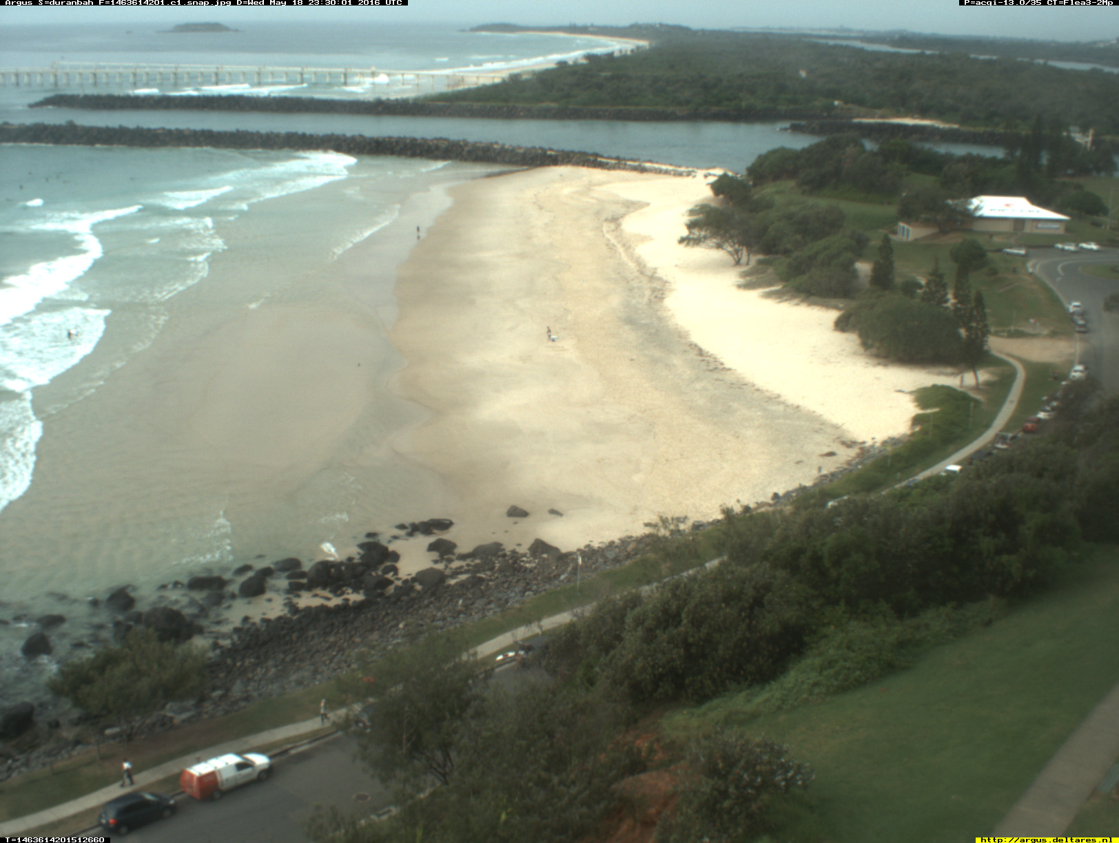 Gold Coast webcam - Duranbah Beach 1 webcam, Queensland, Gold Coast