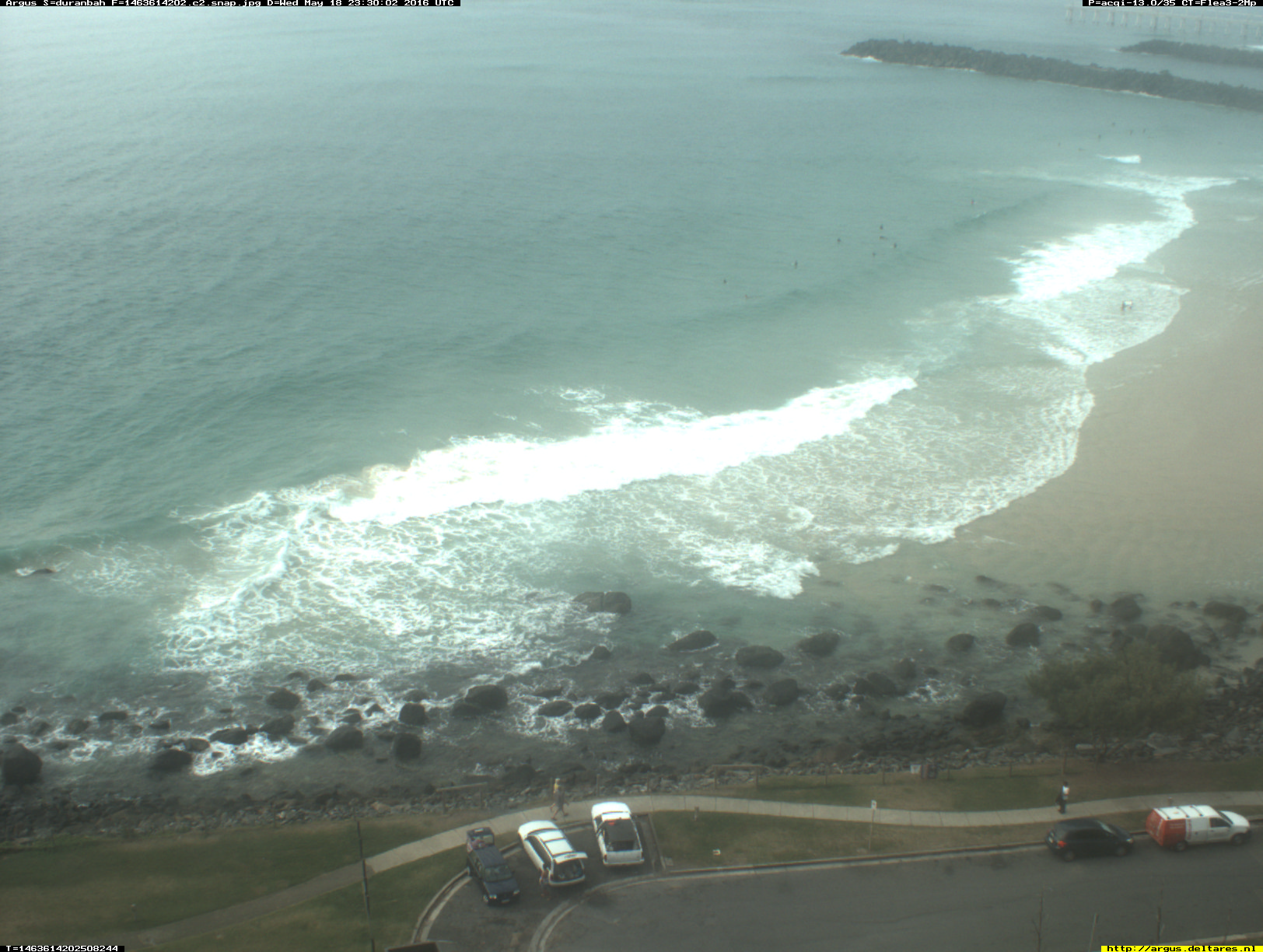 Gold Coast webcam - Duranbah Beach 2 webcam, Queensland, Gold Coast