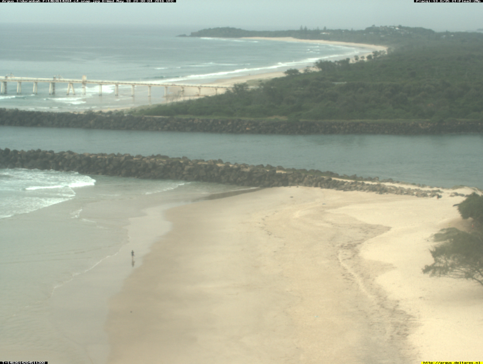 Gold Coast webcam - Duranbah Beach 4 webcam, Queensland, Gold Coast