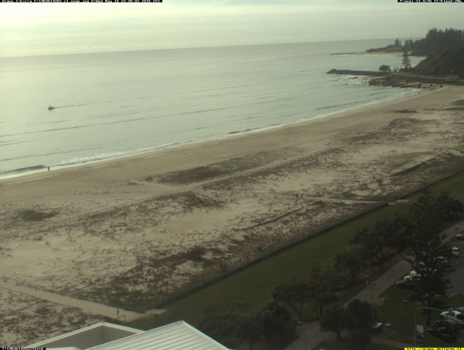 Kirra webcam - North Kirra - Kirra 1 webcam, Queensland, Gold Coast