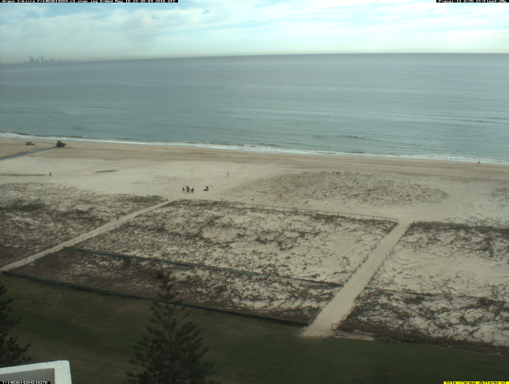 Kirra webcam - North Kirra - Kirra 3 webcam, Queensland, Gold Coast