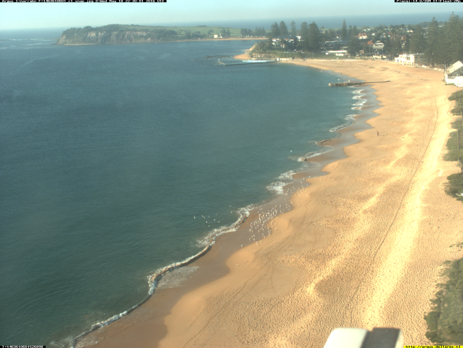 Narrabeen webcam - Narrabeen - Collaroy 1 webcam, New South Wales , Sydney