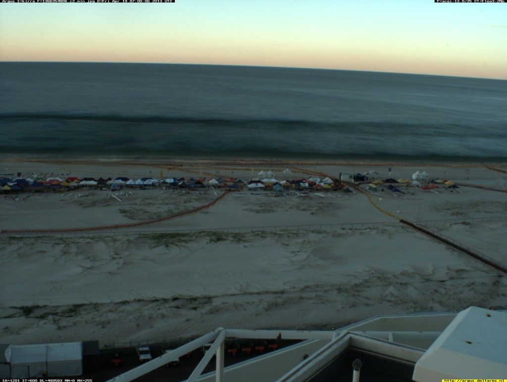 Evening Movement at the Aussie Surf Life Saving Championships - April 19 at 5pm (Kirra Camera 2)